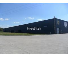 6684 m2 Industrial hall or Warehouse for Rent