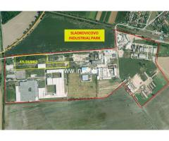4 ha Plot in Sladkovicovo Industrial Park nearby VW, PSA and JLR