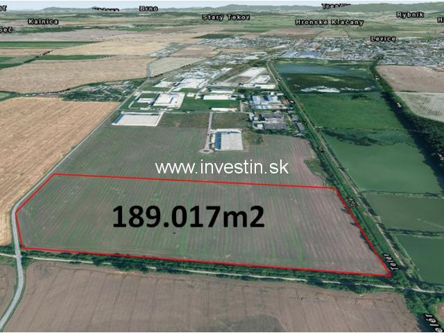 18,9 ha of Industrial Land for Sale