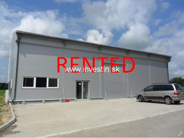 369m2 Food Processing Hall for Rent