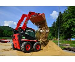 The world´s first electric skid-steer loader